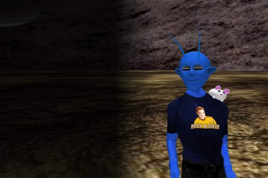 Bloo Alien and Algernon NeverLost